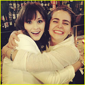 Mae Whitman & Alexis Bledel Have Adopted Each Other!