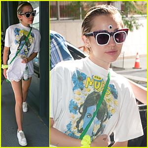 Miley Cyrus' Rumored Girlfriend Stella Maxwell Reveals How They Met