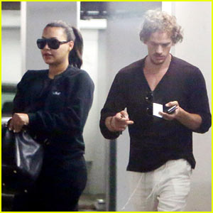 Naya Rivera Steps Out with Her Hubby After Memoir News