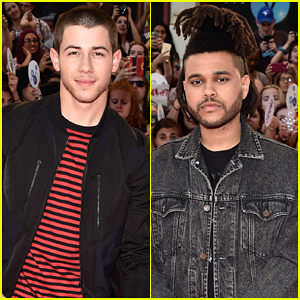 Nick Jonas & The Weeknd Work The Stage at MuchMusic Video Awards 2015 - Watch Here!