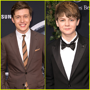 Ty Simpkins Takes JJJ To 'Jurassic World' Premiere - See All The Pics!