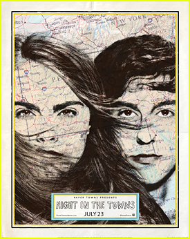 'Paper Towns' Announce Special 'Night On The Towns' Event For Midnight Screening