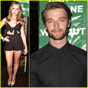 Patrick Schwarzenegger & Christa B. Allen Raise Homelessness Awareness at Imagine Ball