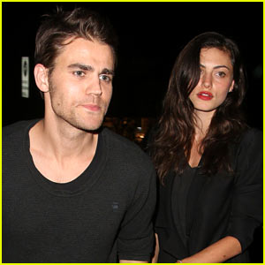 Paul Wesley & Phoebe Tonkin Make It a Chateau Marmont Date Night!