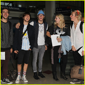 R5 Head To New York After Neon Trees Concert