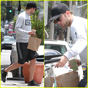 Robert Pattinson Goes Incognito at Naturewell
