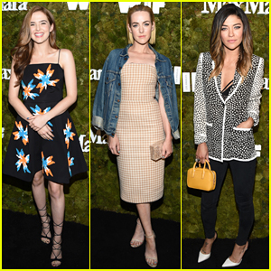 Zoey Deutch & Jena Malone Are Fab Ladies at Max Mara's Women In Film Party!