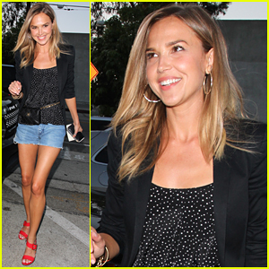 Arielle Kebbel Celebrates 'Ballers' Season Two Renewal