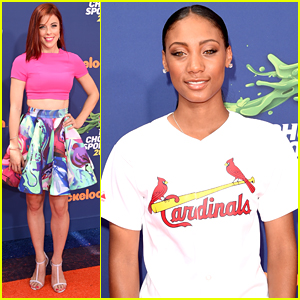 Ashley Wagner Goes Red For Nickelodeon's Kids' Choice Sports Awards!