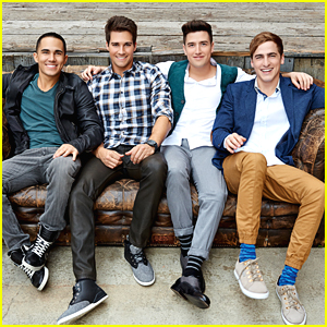 Big Time Rush Congratulates Carlos PenaVega on 'Grease Live' Role