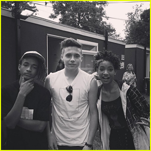 Brooklyn Beckham Hangs Out With Willow & Jaden Smith!