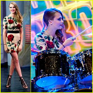 Cara Delevingne Plays Drums & Guitar On 'El Hormiguero' - See The Pics!