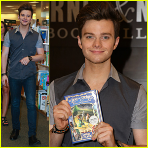 Chris Colfer Has Priceless Reaction To 'TLOS' Hitting #1 On NYT Best Selling Series List