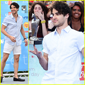 Darren Criss Talks Filming New Movie 'Smitten!' In Italy