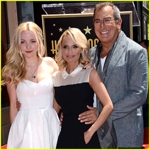 Dove Cameron Supports Kristin Chenoweth at Walk of Fame Ceremony!