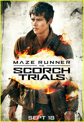 Dylan O'Brien Stars in First 'Maze Runner: The Scorch Trials' Character Poster!