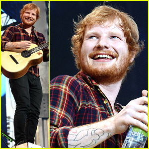 Ed Sheeran Plays Dublin After NBC Special Announcement