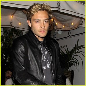 Ed Westwick Supports The King of Rock n Roll\'s Music!   Ed ...