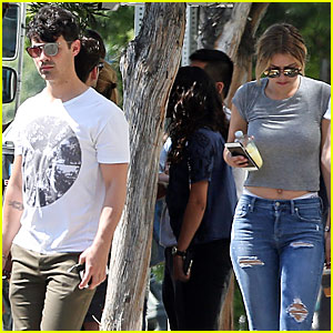 Joe Jonas & Gigi Hadid Take a Trip to Disneyland