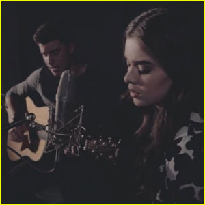 Shawn Mendes & Hailee Steinfeld Sing Soulful Acoustic Duet of 'Stitches' - Watch Now!