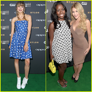 Hannah Kat Jones & Renee Olstead Step Out For The America's Next Top Model Cycle 22 Premiere Party