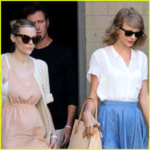 Taylor Swift Grabs Lunch with Jaime King After Meeting Leo Thames!