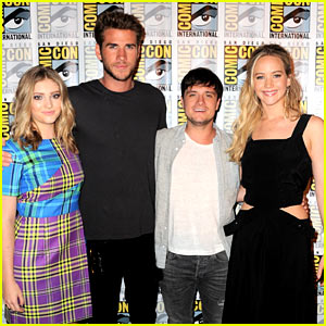 Jennifer Lawrence Takes Over Comic-Con 2015 with 'Hunger Games' Cast!