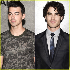Joe Jonas & Darren Criss Kick Off New York Men's Fashion Week!