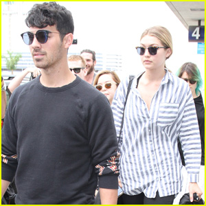 Joe Jonas & Gigi Hadid Dubbed 'G.I. Joe' by Pal Cara Delevingne