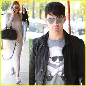 Joe Jonas Lunches With Gigi Hadid Before Hyde Bellagio DJ Set This Weekend