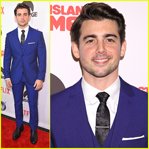John DeLuca Suits Up For 'Staten Island Summer' Premiere