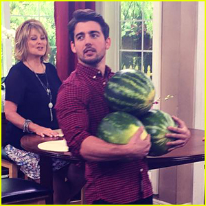 John DeLuca Juggles Watermelons On 'Home & Family' During JJJ Takeover