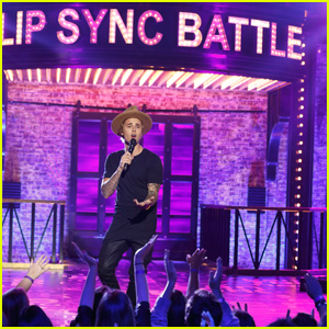 Justin Bieber Performs 'Big Girls Don't Cry' on 'Lip Sync Battle' - Watch the Clip Now!