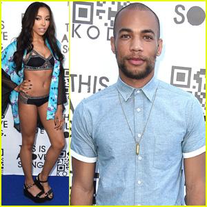 Tinashe & Kendrick Sampson Bring Summer Style to Kode Magazine Party