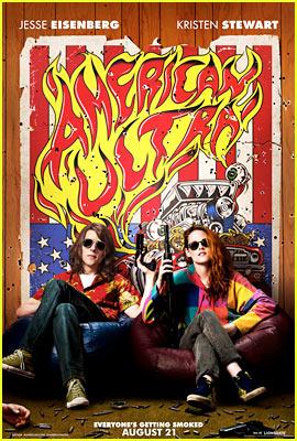 Kristen Stewart & Jesse Eisenberg: New 'American Ultra' Comic-Con Poster Revealed!