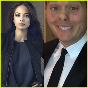 Kristin Kreuk Wins ET Canada's Most Beautiful Battle; Michael Buble Pokes Fun By Taping Up Face