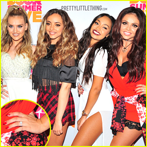 Little Mix's Jesy Nelson Shows Off Engagement Ring At Key 103's Summer Live
