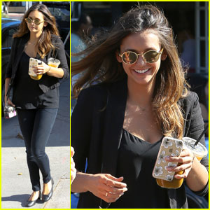 Nina Dobrev is Back in L.A. After Saint-Tropez Trip With Boyfriend Austin Stowell