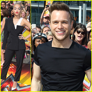 Olly Murs Drives Rita Ora To 'X Factor' Auditions in London