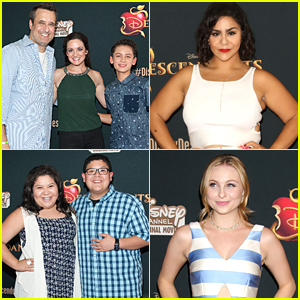Raini Rodriguez & Jessica Marie Garcia Support Dove Cameron At 'Descendants' Premiere