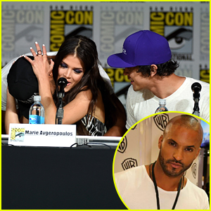 The 100's Ricky Whittle Leaves Comic-Con Panel To Hug Crying Fan In Audience
