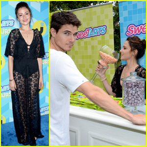 Italia Ricci & Robbie Amell Are the Cutest Couple Ever at JJ Summer Bash Presented by SweeTARTS Chewy Sours