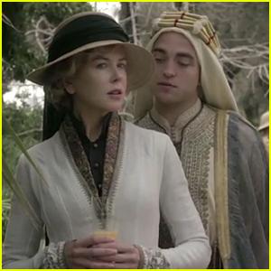 Robert Pattinson Has Close Relationship With Nicole Kidman in 'Queen of the Desert' Trailer - Watch Now!
