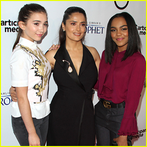Rowan Blanchard Cried Happy Tears After Seeing 'The Prophet' With China Anne McClain