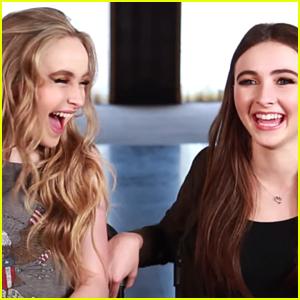 Sabrina & Sarah Carpenter Have 'A Sister Telepathy Thing' Going On