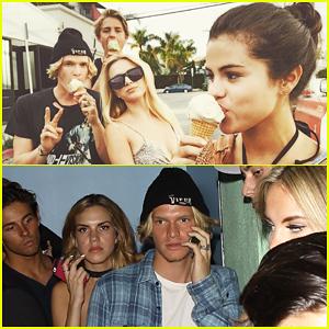 Selena Gomez & Cody Simpson Have 'Best Day' with Ice Cream!