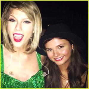 Stefanie Scott Meets Up With Taylor Swift in Dublin