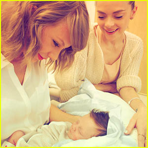 Taylor Swift Meets Her Godson - See the Photos!