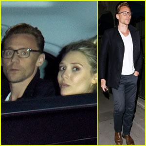 Elizabeth Olsen Steps Out for Date Night with Tom Hiddleston!