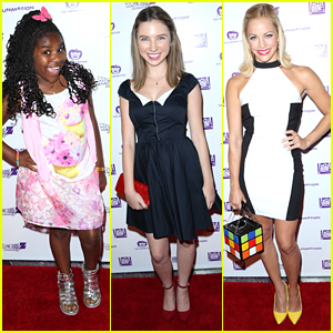 Trinitee Stokes & Autumn Wendel Hit Up 'Dragonball Z' Premiere